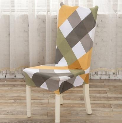 2016 Universal Fashion spandex Elastický potah na židle jídelní skříňka de chaise kancelář počítač couverture chaise fundas silla
