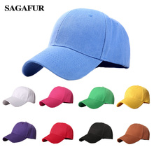 Plain Baseball Cap women men snapback caps Classic Polo Styl