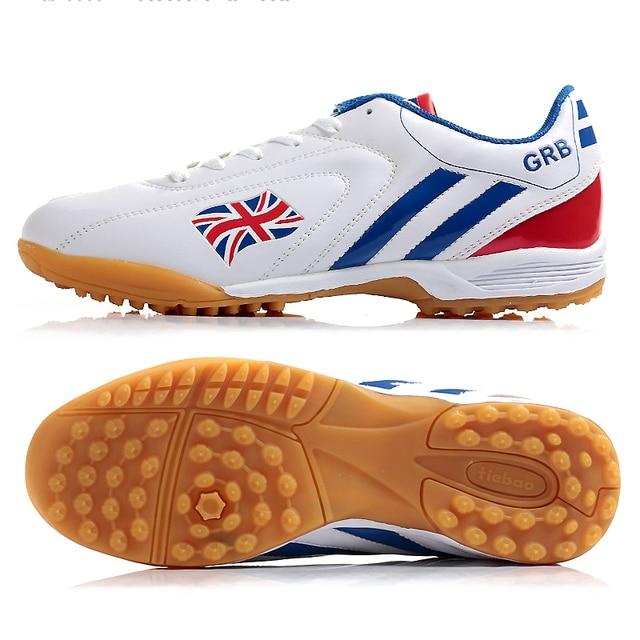 ccf43714384f TIEBAO Professional Outdoor Soccer Shoes Men Women TF Turf Sole ...