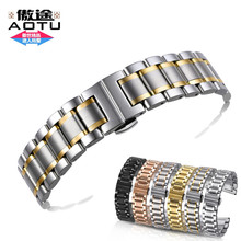 Stainless Steel Watch Bracelet Watchband 14/16/17/18/19/20/21/22/23/24mm for Hours Casio Seiko Diesel Apple Watchband + Tools
