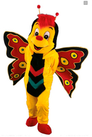 Butterfly   Mascot  Mascot Costume  costumes for adults christmas  Halloween Outfit Fancy Dress Suit Free Shipping