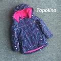 Девушки KidsTopolino зимнее пальто верхняя одежда тренч снег куртка doudoune enfant winterjas meisjes doudoune дочь манто fille пасечник