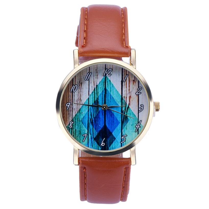 relogio masculino erkek kol saati  reloj mujer  women watches  Faux Leather Band  Analog Quartz Wrist Watch WristWatch Clock