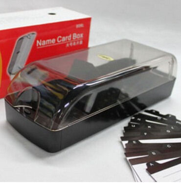 premium large capacity 650 cards name card holder with index cards high quality hot sale Eagle 808L