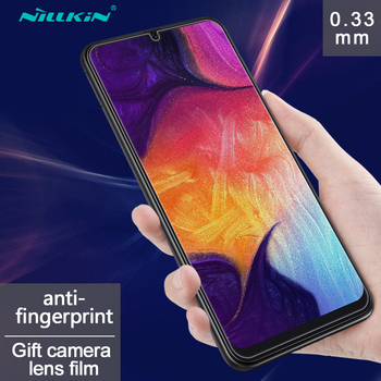 df2264c4e32 Película de vidrio Nano para Samsung Galaxy A50 protector de pantalla  Nillkin vidrio templado protector para Samsung A50 vidrio Anti-explosión