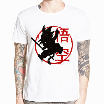 Dragon Ball Z Goku T-shirt Short sleeve O-Neck Tshirt Summer Saiyan Vegeta Harajuku brand clothing T shirt HCP316 1