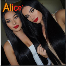 Full Lace Front Wigs Human Hair Glueless Lace Front Human Hair Wigs Straight Natural Hair Wig Bleached knots Virgin Hair Wigs