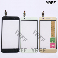 Touch Screen Glass Digitizer Panel For Huawei Y3 2017 CRO U00 CRO L02 CRO L22 Touch Screen Touchscreen Lens Sensor Front Glass