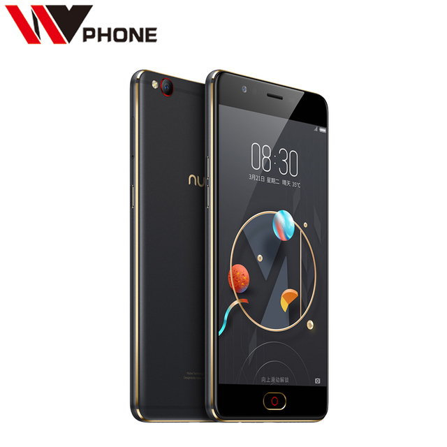 Original Nubia M2 Lite 4G LTE Mobile Phone MT6750 Octa Core 5.5 inch Front 16.MP Rear 13.0MP 3000mAh Android N Fingerprint ID