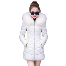 купить Winter Jacket Women 2018 Winter Female Long Jacket Winter Coat Women Fake Fur Collar Warm Woman Parka Outerwear Down Jacket Coat по цене 1846.63 рублей