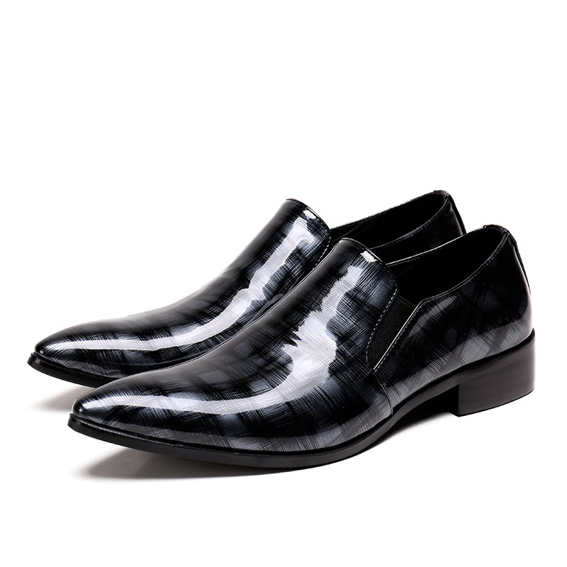 Christia Bella Handmade Mens Loafers Fashion Banquet and Prom Wedding Men  Dress Shoes Office Suit Shoes Summer Slippers Men-in Formal Shoes from  Shoes on ... e2953c323fac