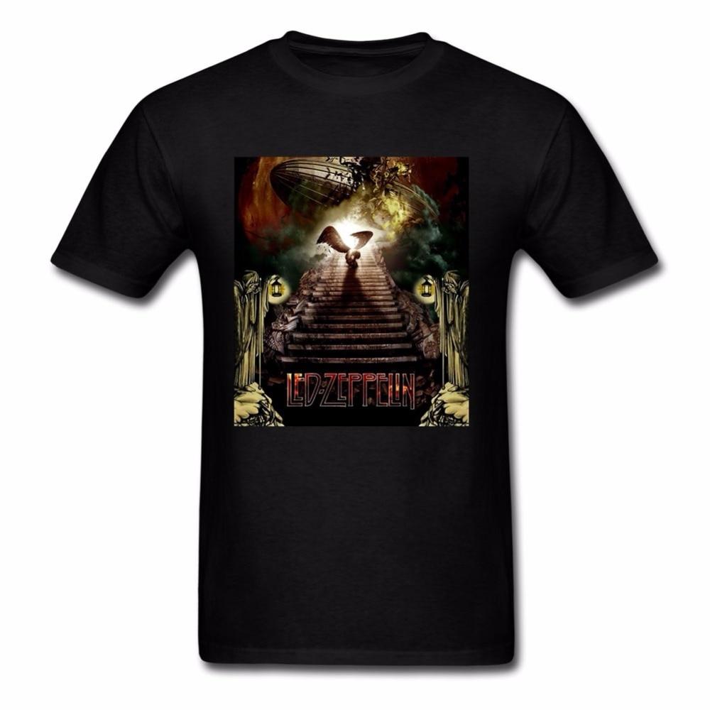 Design your t shirt cheap - Design Your Own Led Zeppelin T Shirt Fashion Men High Quality Cotton Tshirt Man Short Sleeve