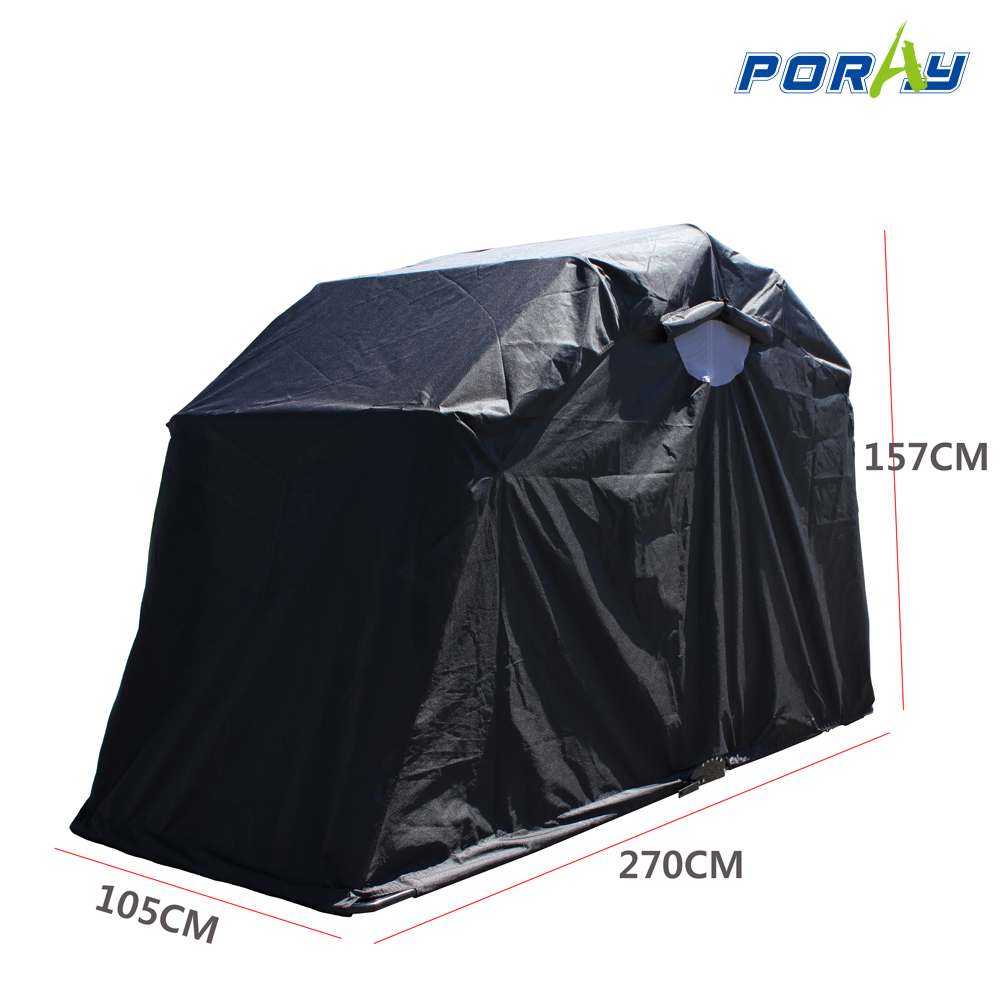 Shelter Storage Cover All : Poray motorcycle tent storage shed standard medium