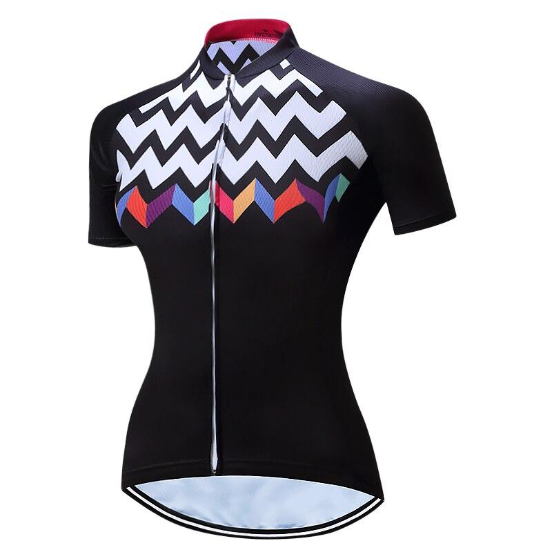 2018 mujeres ciclismo Jersey ropa ciclismo camisa señora manga corta ciclismo ropa bike Jersey bicicleta ropa Maillot