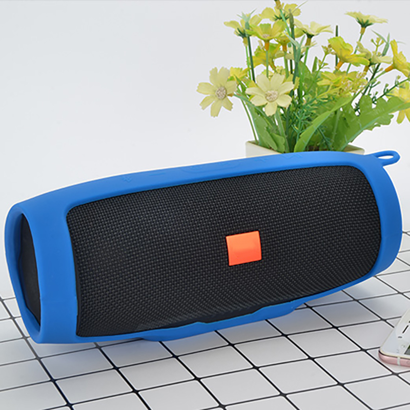 NEW Wireless Bluetooth Speaker Cover Portable Wireless Loudspeakers Silicone Cover For JBL Charge 3 Mountaineering Silicone Case(China)