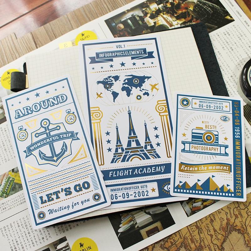 Jamie Notes Original Folie Skrivmatta För Midor Traveller Notebook - Block och anteckningsböcker - Foto 2
