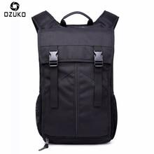 Neue OZUKO Männer Rucksack Multifunktionale Mode Lässig 15/16 zoll Laptop Rucksack Wasserdichte Reisetasche Computer Tasche Schultaschen