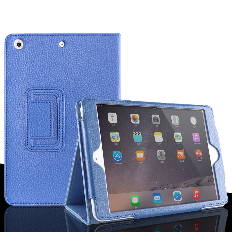 For Ipad Air / Air 2 PU Leather Cover With Auto Sleep /Wake Up For Ipad 5 / 6 Magnetic Flip Case For IPad 9.7 2017 2018