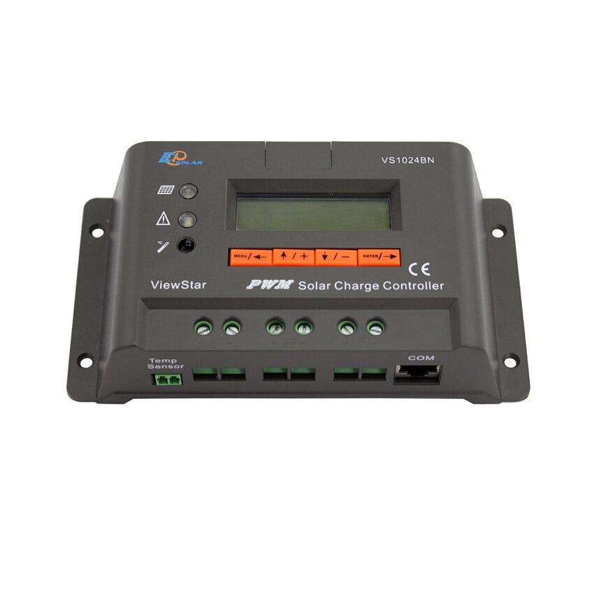 10A voir étoile VS1024BN 12 V 24 V Auto EP PWM contrôleur de Charge solaire affichage LCD