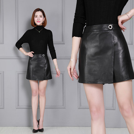 Autumn and Winter New Leather Shorts K66