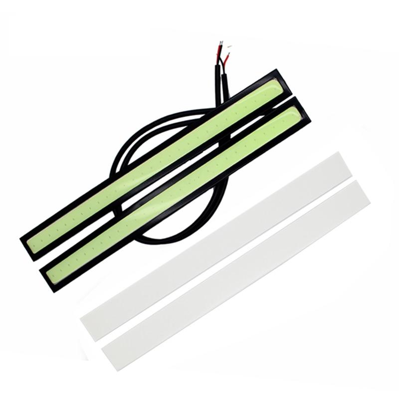 2Pcs / Ζεύγος SUNKIA COB LED Φώτα DRL Αδιάβροχο - Φώτα αυτοκινήτων - Φωτογραφία 2
