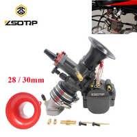ZSDTRP 28/30mm Vergaser Mit Power Jet Für Maikuni Keihin PWK YD28 YD30 ATV Quad Go Kart Dirt fahrrad Motorrad Racing Teile