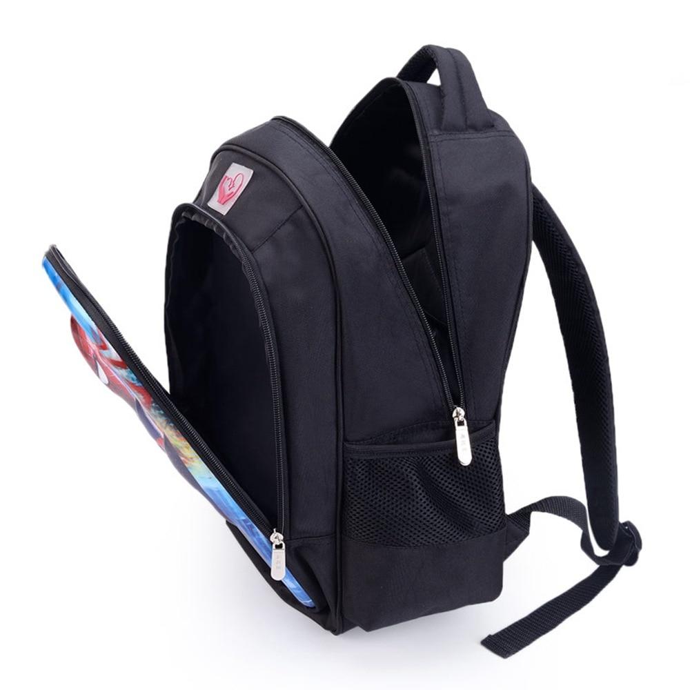 Image 2 - 16 Inch Mario Bros Sonic Children School Bags Orthopedic Backpack Kids School Boys  Girls Mochila Infantil Catoon Bags-in Backpacks from Luggage & Bags
