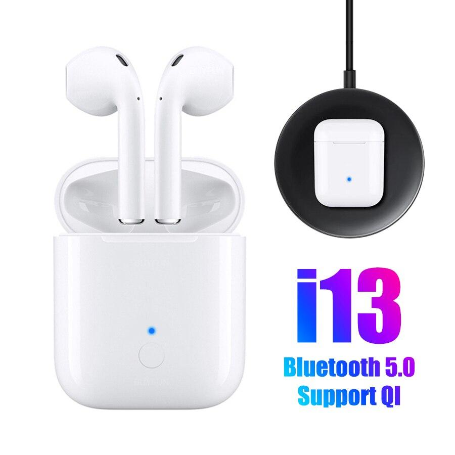 TWS i13 New Wireless Bluetooth Earphones Wireless Headphone Touch Control Bluetooth Headset Air Ear Pods 1:1 pk tws i10 i12 i9s