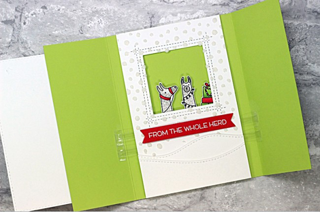 Mai 2pcs/set Trifold Slider Metal Cutting Dies Stencils For DIY Scrapbooking Photo Album Decorative Embossing DIY Paper Cards