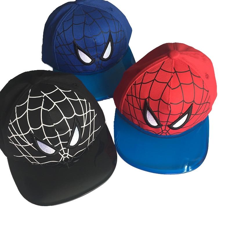 Purposeful 2019 New Kids Cap Boy Spiderman Baseball Cap Transparent Pvc Visor Boys Girls Cartoon Caps Sprite Hat Child Hays 2019 New Fashion Style Online Kleidung & Accessoires