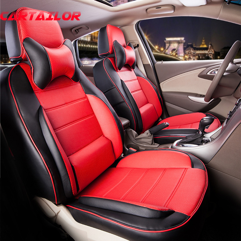 cartailor cover seat for volkswagen vw caddy car seat cover accessories set black pu leather. Black Bedroom Furniture Sets. Home Design Ideas