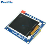 Mini 1.8 Inch Serial SPI TFT LCD Module Display with PCB Adapter IC 128x160 Dot Matrix 3.3V 5V IO Inerface Cmmpatible 1602 5110(China)