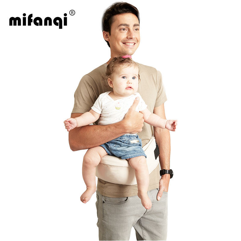 Baby Carrier Cover Front Carry 4 6 Months Baby Waist Stool Seat 9kg Cotton Echarpe Porte