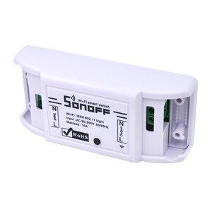 Image 3 - 10 قطعة SONOFF الأساسية اللاسلكية واي فاي التبديل وحدة التحكم عن بعد أتمتة لتقوم بها بنفسك الموقت العالمي المنزل الذكي 10A 220 فولت التيار المتناوب 90 250 فولت
