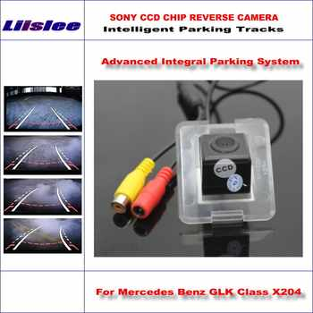 Liislee Hohe Qualität Intelligentized Kamera Für Mercedes Benz Glk-klasse X204/NTSC PAL RCA AUX HD SONY CCD 580 TV Linien