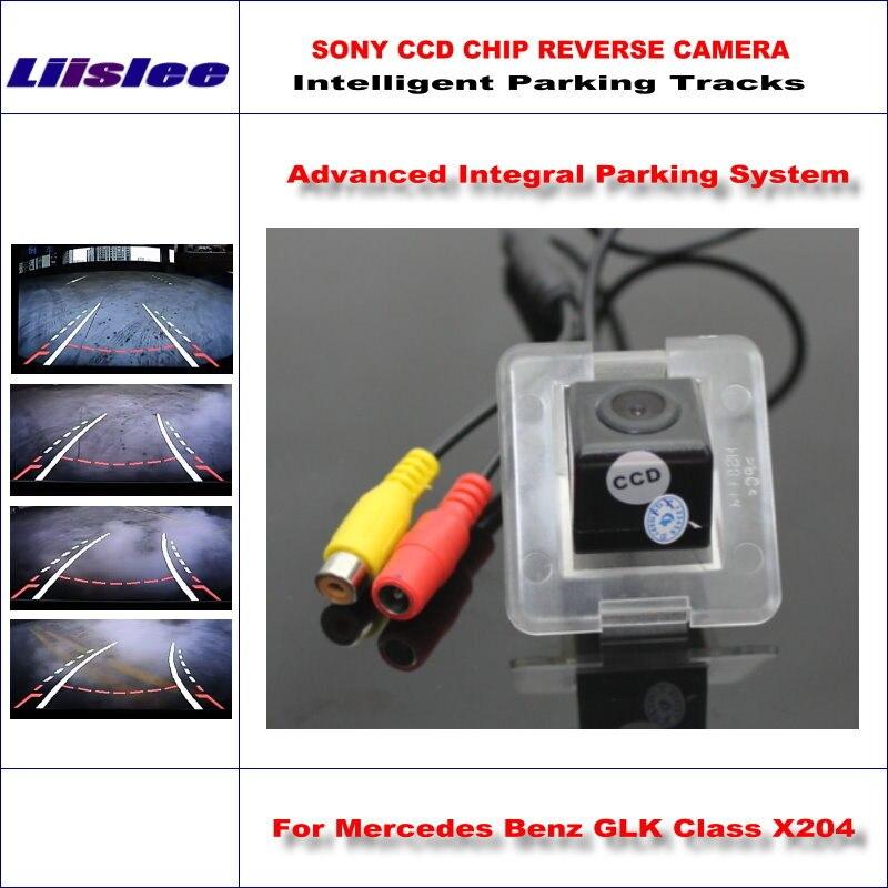Liislee caméra intelligente de haute qualité pour Mercedes Benz GLK classe X204/NTSC PAL RCA AUX HD SONY CCD 580 lignes TV