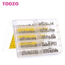 700Pcs Stainless Steel 1.6-6.0mm Screw Kit For Micro Eyeglass Watch Repair Tool #G205M# Best Quality