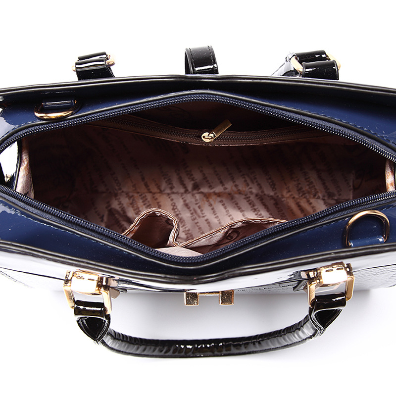 Yingpei Women Bag Vintage Casual Tote Top-handle Messenger Bags Shoulder Student Handbag Purse Wallet Leather 2018 New