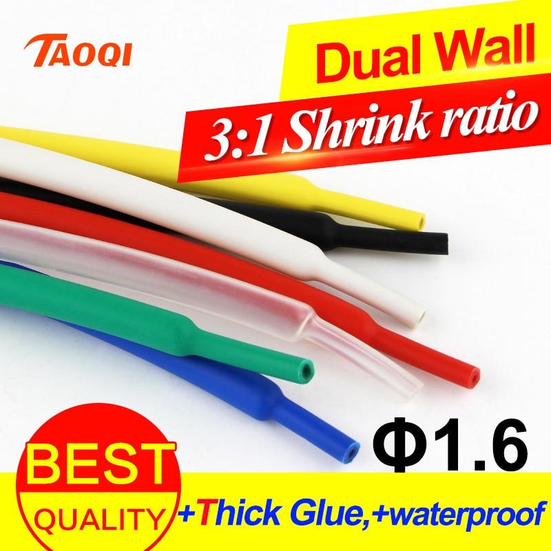 8mm 2:1 Klar Hitze Schrumpfschlauch Schrumpfschlauch Kabel Ärmel 5 Meter