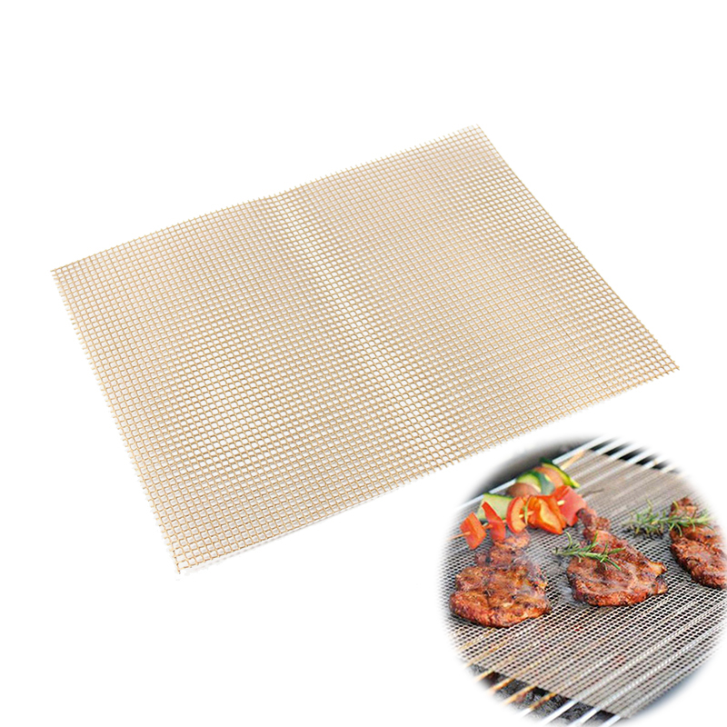 Image result for BBQ Grill Mat Non Stick Grid Pad