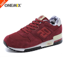 onemix suede retro slow running sport men shoes original sneakers breathable men &women athletic shoes drop shipping 1059