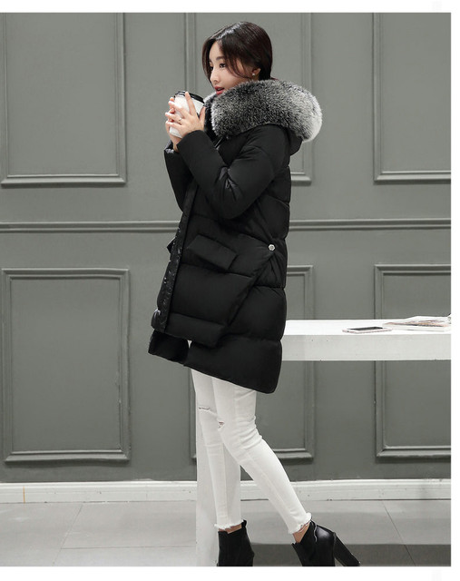 2016 Hot High Quality Winter Thickening Cotton Jacket Women Fashion Street Slim Women Winter Jackets M-3XL Plus Size Winter Coat