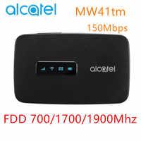 Alcatel MW41 4G LTE cat4 WiFi enrutador FDD LTE B2/4/12/150 Mbps adecuado MW41tm móvil wifi 4g router de módem
