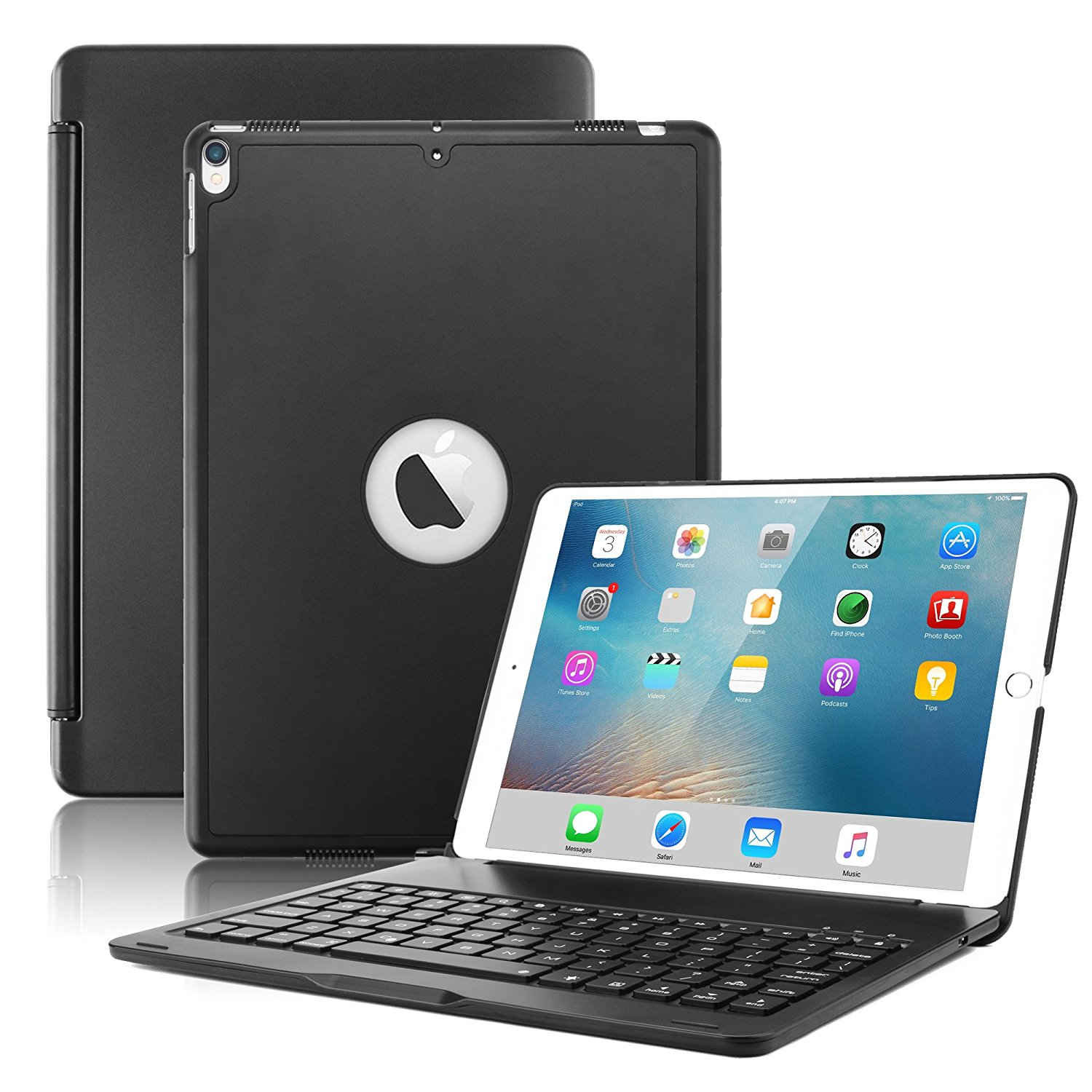 For New IPad Pro 10.5 Keyboard Case, Wireless Bluetooth Keyboard Smart Cover For IPad Pro 10.5