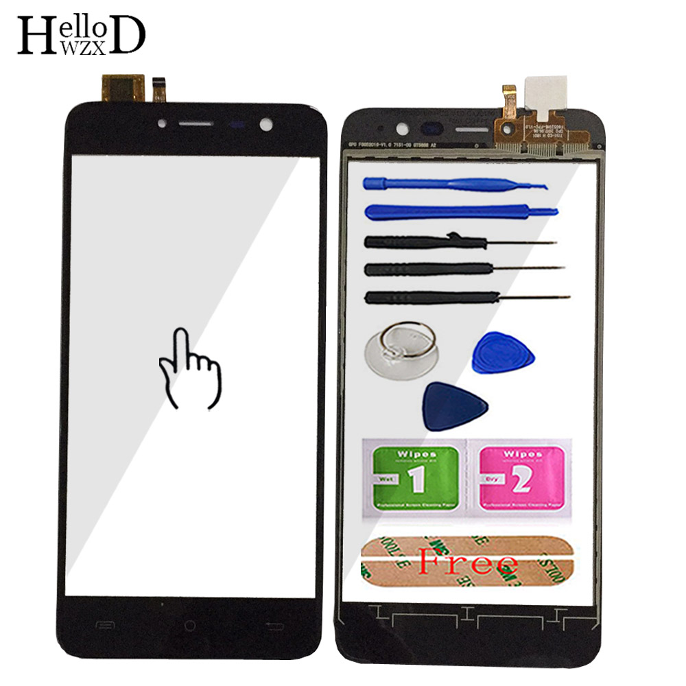 5.2'' Mobile Phone Touch Glass For Cubot Note Plus Touch Screen Front Glass Digitizer Panel Tools Lens Sensor + Adhesive