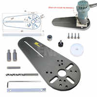 NEW Circle Cutting Jig for Bosch Makita Electric Hand Trimmer Wood Router Woodworking Milling Circle Milling Groove
