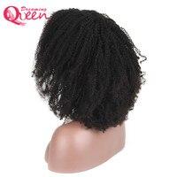 Полный шнурок человеческих волос парики для Для женщин бразильский Волосы remy афро странный фигурные Glueless парики шнурка с ребенком волос Ме