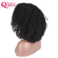 Full Lace Human Hair Wigs For Women Brazilian Remy Hair Afro Kinky Curly Glueless Lace Wigs With Baby Hair dreaming Queen Hair