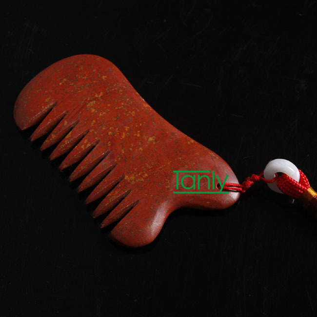Wholesale & Retail Traditional Acupuncture Massage Tool Natural Bian-stone Healing Guasha comb wholesale and retail traditional acupuncture massage tool natural 5a red yellow bian stone guasha board 100x60x8mm scrapping