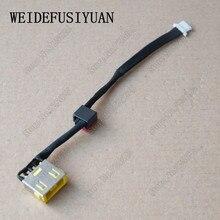 AC DC Jack wtyczki zasilania w Port ładowania gniazdo złącza z drutu kabel uprząż zamiennik dla Lenovo Yoga 2 13